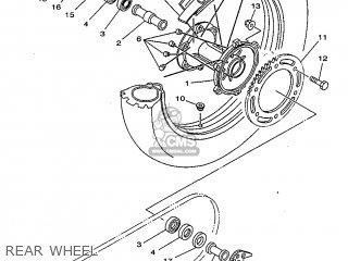 Yamaha DT125R 1999 3RME SPAIN 293RM-352SA parts lists and