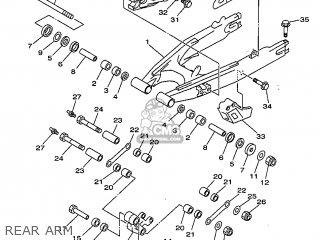 Yamaha DT125R 1999 3RMF FRANCE 293RM-351FA parts lists and