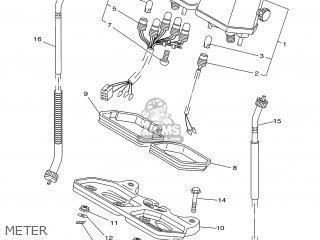 Yamaha DT125R 2000 3RMH FRANCE 103RM-351FA parts lists and