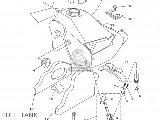 Yamaha DT125R 2002 4DJB SWITZERLAND 1A3RM-300EA parts