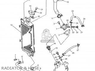 Yamaha DT125R 2004 1D01 ENGLAND 1C1D0-310E1 parts lists
