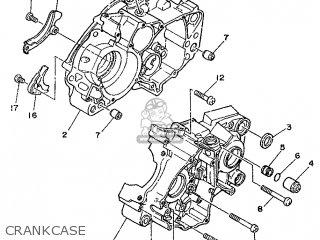 Yamaha DT125R (21.4PS) 1988 3BN1 FRANCE 283BN-351F1 parts