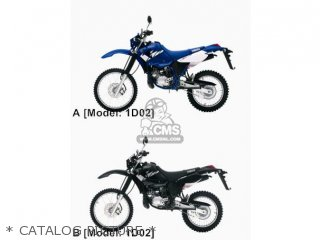 Yamaha DT125RE 2005 1D02 FRANCE 1D1D0-332G1 parts lists