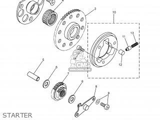 Yamaha DT125X 2005 2C81 SLOVENIA 1C2C8-300E1 parts lists