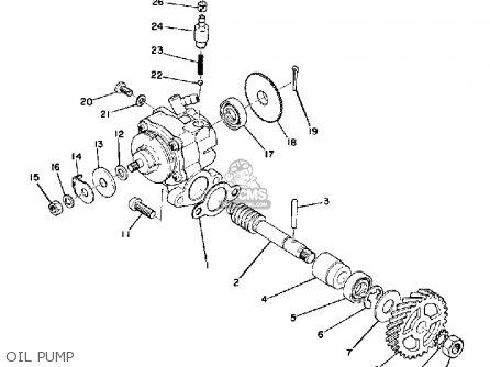 Yamaha Dt175 1975 Usa parts list partsmanual partsfiche