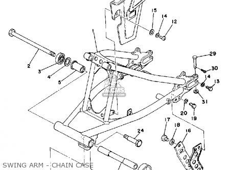 Yamaha Dt175 1979 Usa parts list partsmanual partsfiche