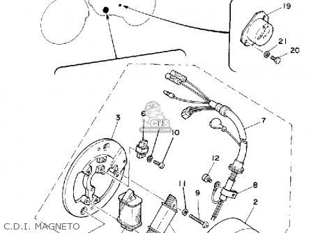 Wiring Diagram Yamaha Ty250 Yamaha JT1 Wiring Diagram