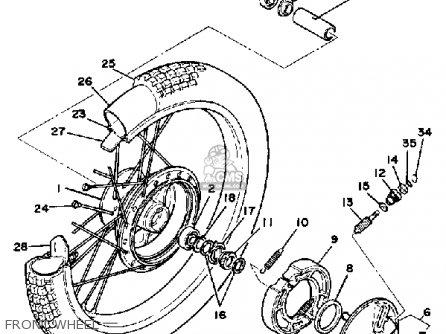 1976 Yamaha 500 Xt Wiring Diagram