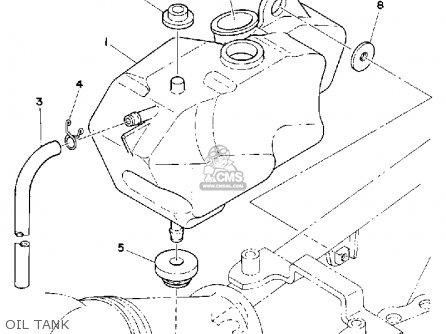Yamaha Dt175g Dual Purpose 1980 parts list partsmanual