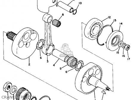 Yamaha DT1B 1969 USA parts lists and schematics