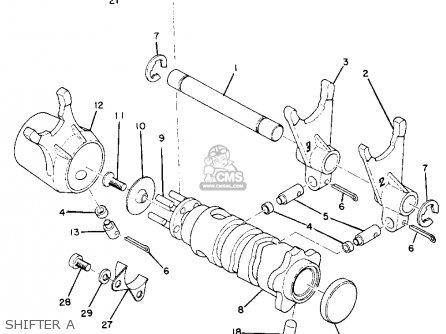 Yamaha Dt1c-mx 1969/1970 parts list partsmanual partsfiche