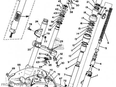 Yamaha Dt1cmx 1970 Usa parts list partsmanual partsfiche