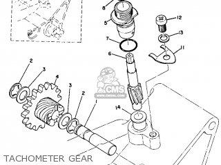 Yamaha Dt1e 1971 Usa parts list partsmanual partsfiche