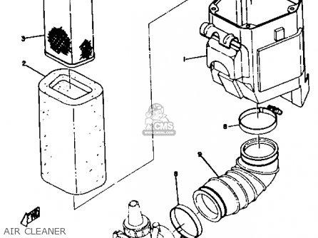 Yamaha Dt2 1972 1973 Usa parts list partsmanual partsfiche