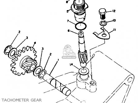 Yamaha DT2 1972 1973 USA parts lists and schematics