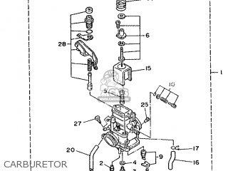 Yamaha DT200R 1988 2YY1 FRANCE 282YY-351F1 parts lists and