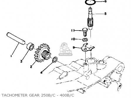 Yamaha Dt250 1975 Usa parts list partsmanual partsfiche