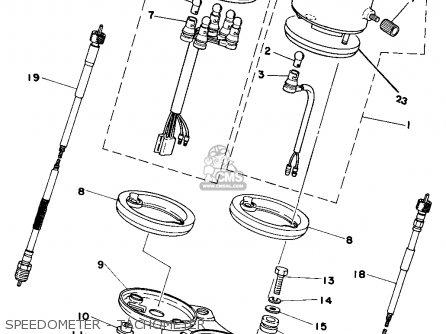 Yamaha Dt250 1977 Usa parts list partsmanual partsfiche