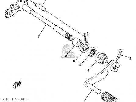 Yamaha Dt250 1979 Usa parts list partsmanual partsfiche