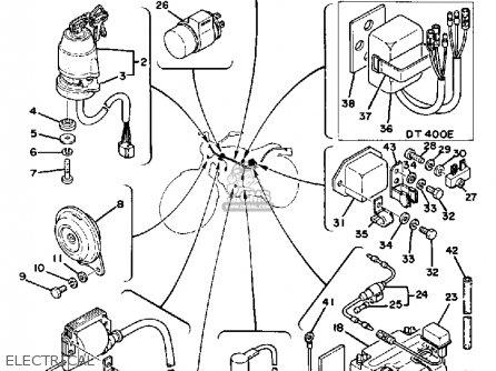 1978 Yamaha Dt250e Wiring Diagram