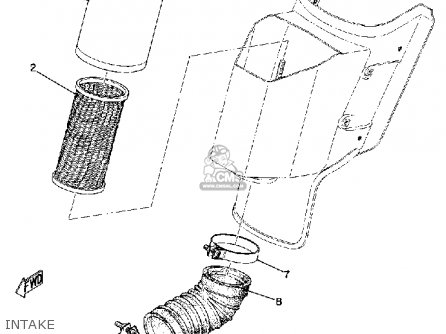 Yamaha Dt2mx 1972 Usa parts list partsmanual partsfiche