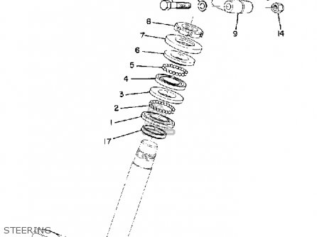 Yamaha DT2MX 1972 USA parts lists and schematics