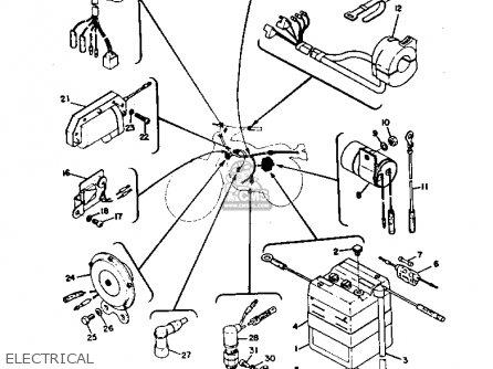 Yamaha DT3 1972 1973 USA parts lists and schematics
