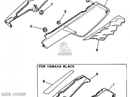 Yamaha Dt50 Dtl / C 1990 (l) Usa parts list partsmanual