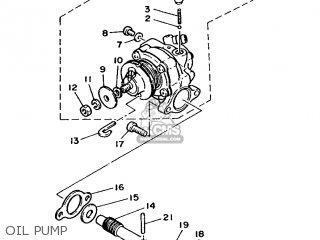 Yamaha DT50MX 1986 2FN ENGLAND 262FN-310E1 parts lists and