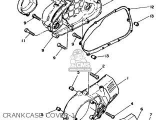 Yamaha Dt50mx 1986 5m6 England 265m6-310e1 parts list
