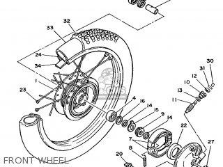 Yamaha DT50MX 1987 2UN NORWAY 283DG-321E1 parts lists and