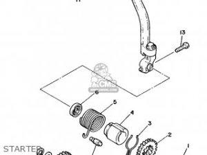 Yamaha Dt50mx 1987 2un Norway 283dg321e1 parts list partsmanual partsfiche