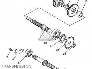 Yamaha DT50MX 1989 3TG1 SWEDEN 293TG-322E1 parts lists and