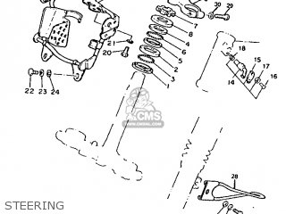 Yamaha DT50R 1991 3MN2 GERMANY 213MN-332G1 parts lists and