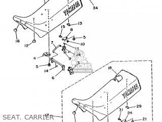Yamaha DT80LC 1987 2RA GERMANY 272RA-332G2 parts lists and