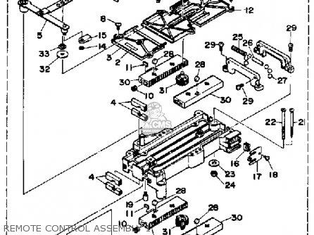 Yamaha Dual Station System parts list partsmanual partsfiche