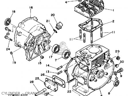 Yamaha EC2000 EC2800 GENERATOR parts lists and schematics