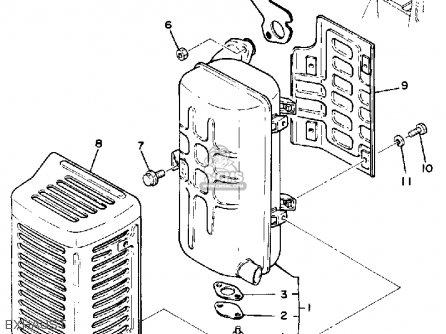 Yamaha EC2000 EC2800 GENERATOR parts lists and schematics