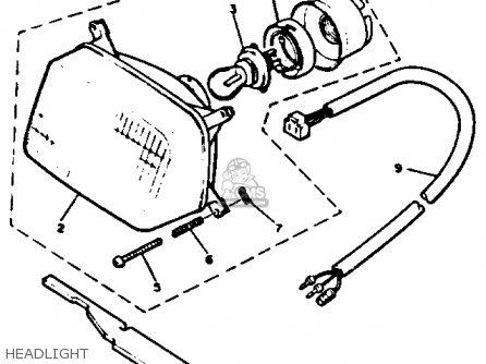 Yamaha EC340H EXCEL III 1984 parts lists and schematics
