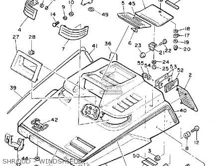 Yamaha EC340M EXCEL III 1988 parts lists and schematics