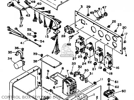 Yamaha Edy5000dve Generator parts list partsmanual partsfiche