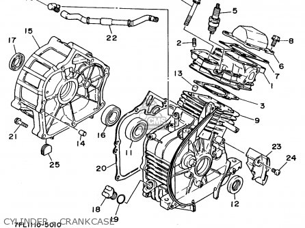 Yamaha Ef1000 7fl1 Generator parts list partsmanual partsfiche