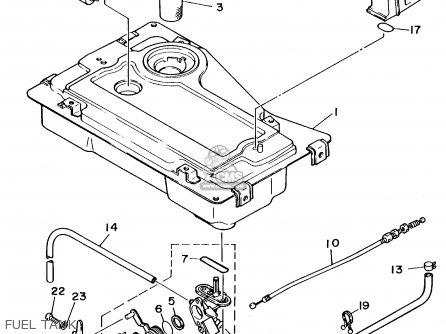 Yamaha Ef1000 7fl1 Generator parts list partsmanual partsfiche