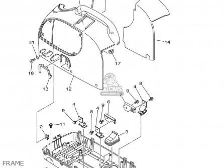 Yamaha Ef1000is 7vv2 Generator 2002 parts list partsmanual