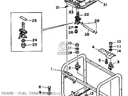 Yamaha Ef1400 Generator parts list partsmanual partsfiche