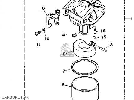 Yamaha Ef1600 Generator parts list partsmanual partsfiche