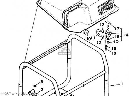 Yamaha Ef1600r Generator parts list partsmanual partsfiche