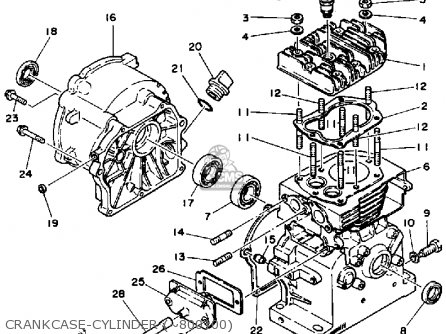 Yamaha Ef2000 parts list partsmanual partsfiche
