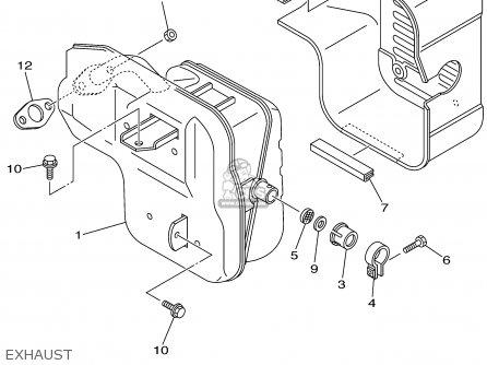 Yamaha Ef4000de 7vw2 Yg4000d 7vw2 Generator 2000 parts