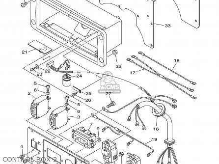 Yamaha Ef4600a 7wx Ef6600a 7wy Generator 2002 parts list